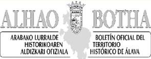 Boletín Oficial del Territorio Histórico de Álava | BOTHA